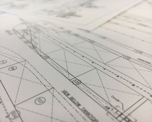 Shipdesign drawing architect