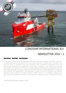 CSI Newsletter 2016 - 1