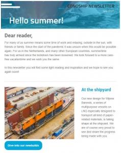 Newsletter July 2021